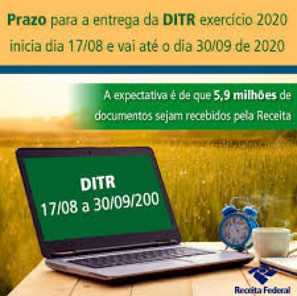 Receita Federal alerta que faltam 6 dias para encerramento do prazo de entrega das Declarações de ITR 2020