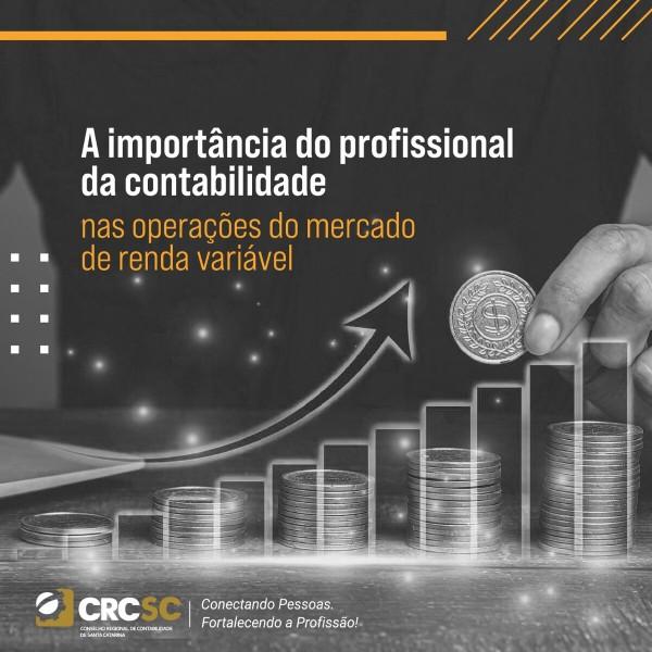 A importância do profissional da contabilidade nas operações do mercado de renda variável
