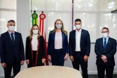 Governadora dá posse a quatro novos secretários